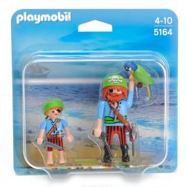 Playmobil Pirati Papà e Bimbo