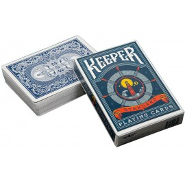 Bicycle Keeper Blue Deck
