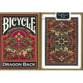 Bicycle Dragon Back Deck Red