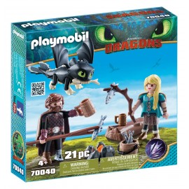 Playmobil Dragons Hiccup e...