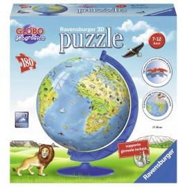 Puzzle 3D Globo geografico