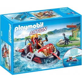 Playmobil Action Gommone...