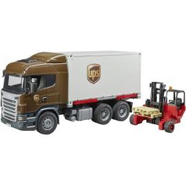 Bruder Camion Scania UPS...