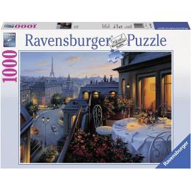 Puzzle 1000pz Balcone a Parigi