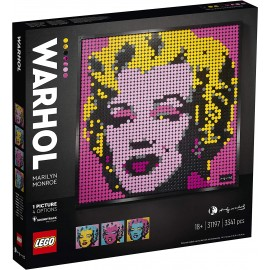 Lego Art Andy Wharol...