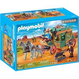 Playmobil Carrozza Western
