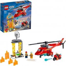 Lego City Elicottero Pompieri