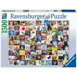 Puzzle 1500 pezzi 99 Gatti