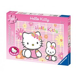 Puzzle Hello Kitty Rosa