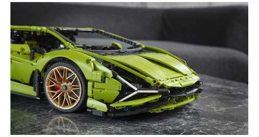 Lego Technic 42115 Lamborghini Sian FKP37