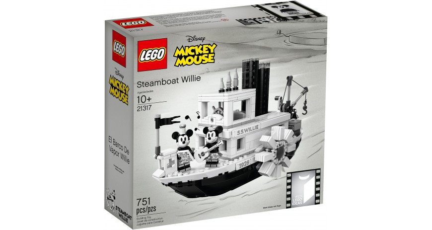 Lego Steamboat Wilie 21317